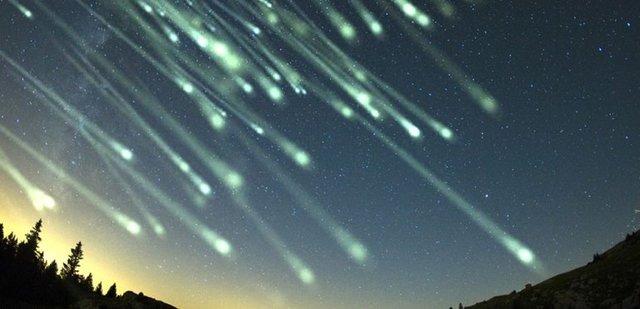La segunda lluvia de meteoritos