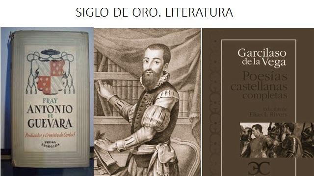 SIGLO DE ORO. LITERATURA. Continuación...