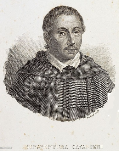 """Bonaventura Cavalieri (1548-1647). """"Los Indivisibles"""""""