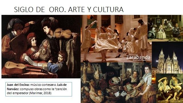 SIGLO DE ORO. CULTURA Y ARTE