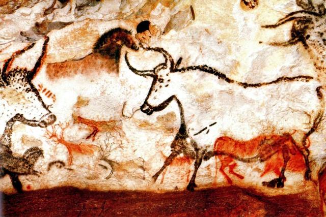 De grotschildering van Lascaux