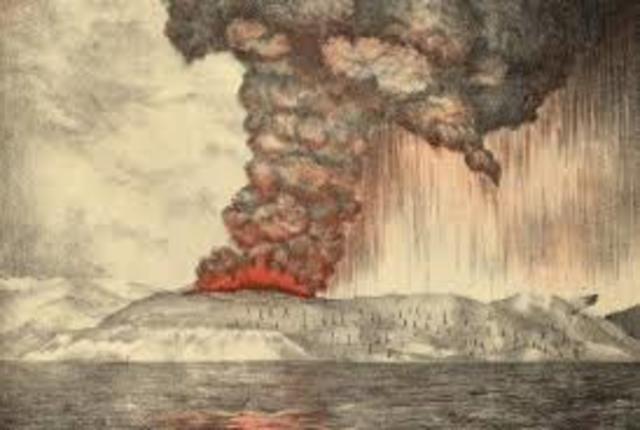 Krakatoa Eruption (Java/ Sumatra)