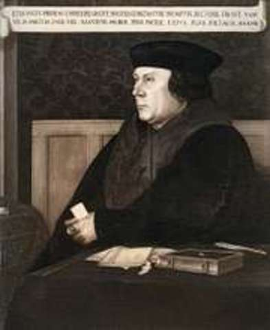 With the Supremacy Act, Henry VIII proclaims himself heard of Church of England