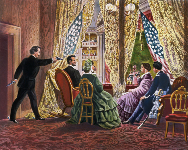 2.   Booth Assassinates Lincoln
