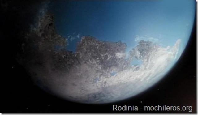 La entrada de Rodinia.