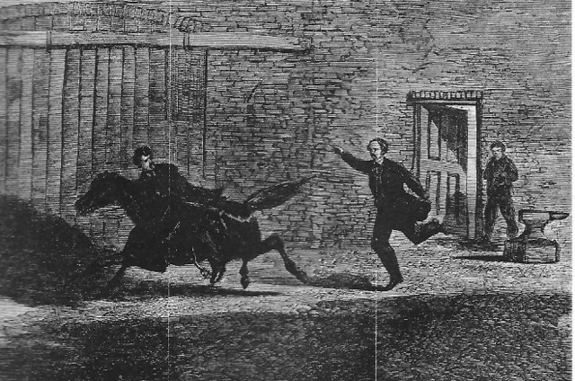 3.   Booth Escapes out of Washington