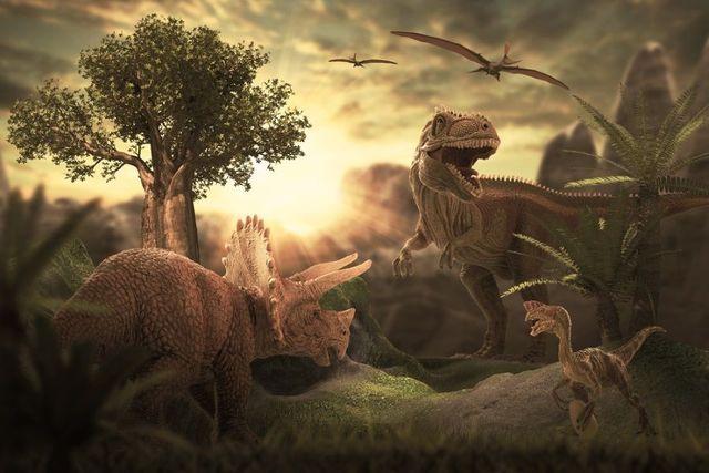 La nueva especie: Los dinosaurios