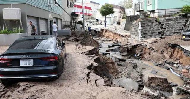 Hokkaido Earthquake, Japan