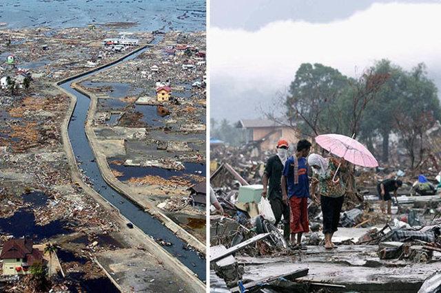 Sumatra Earthquake, Indonesia