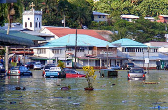 Samoa Earthquake, Samoan Islands