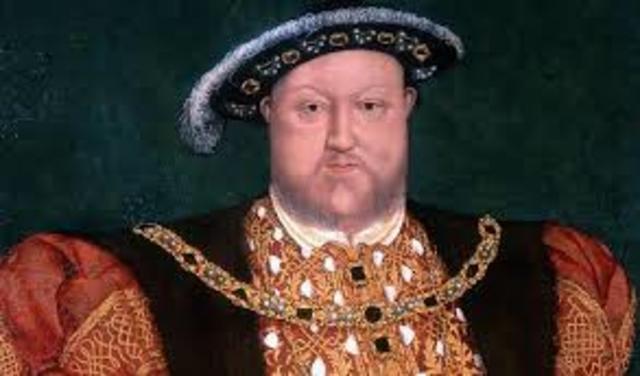 Fundação da Igreja Anglicana por Henrique VIII