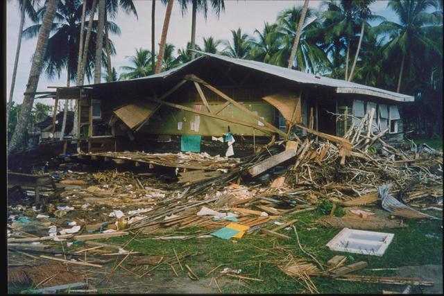Papua New Guinea Quake - Papua, New Guinea