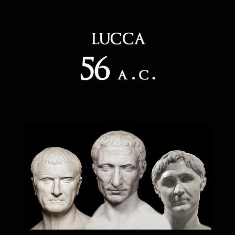 Incontro dei Triumviri a Lucca