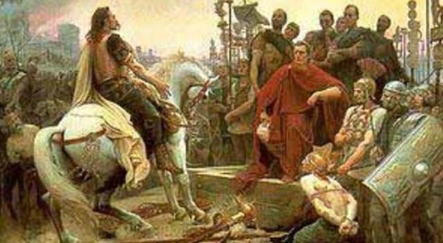 Cesare vince a Farsalo
