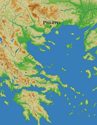 Bruto e Cassio sconfitti a Filippi
