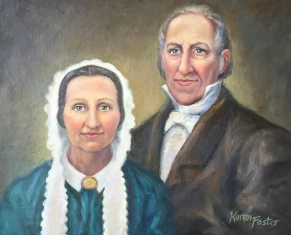 Marriage between Joseph Smith Sr. and Lucy Mack