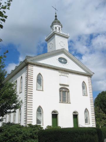 Dedication of Temple site- Kirkland Ohio
