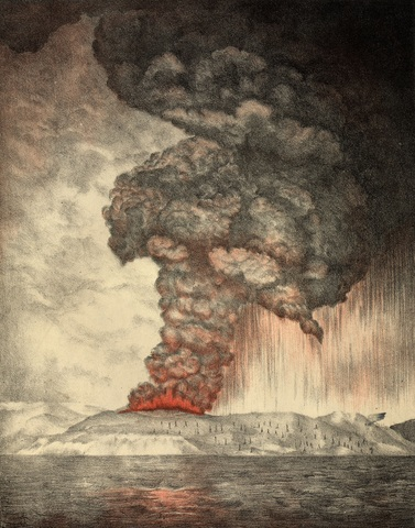 Krakatoa Eruption (Java/Sumatra)