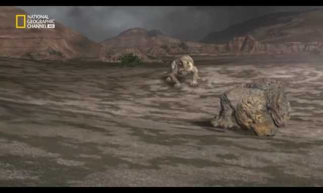 Escutosaurios y gorgonoxidos