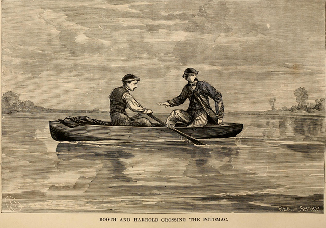 13. Booth and Herold Cross the Potomac into Virginia