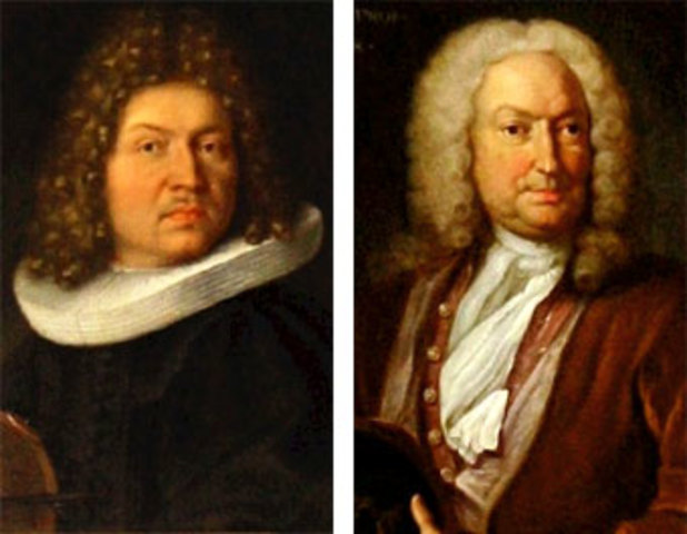 Los Bernoulli :Jacob (1654 - 1705) - Johann (1667 - 1748)