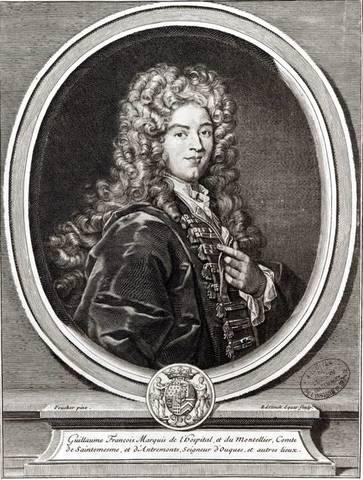 Guillaume François, marqués de L'Hôpital (1661-1704)