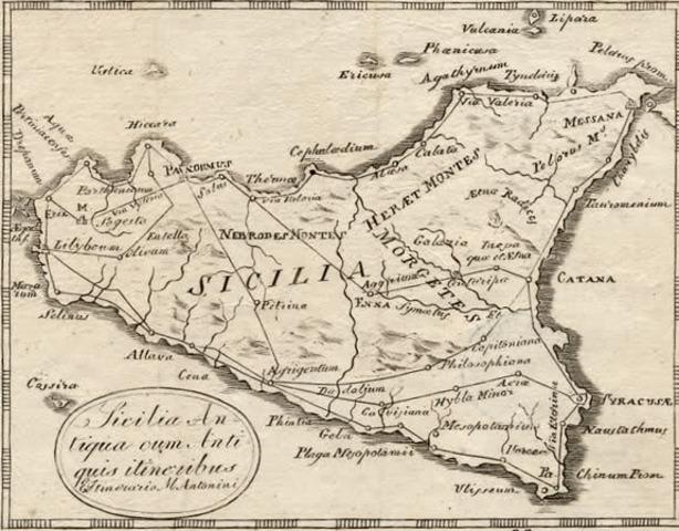 SICILIA,PRIMA PROVINCIA ROMANA