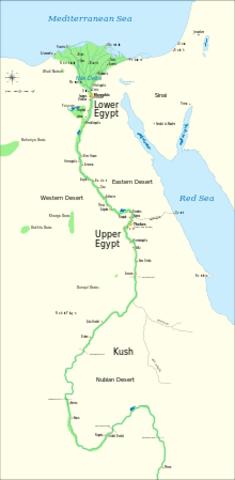 Egypte wordt één staat
