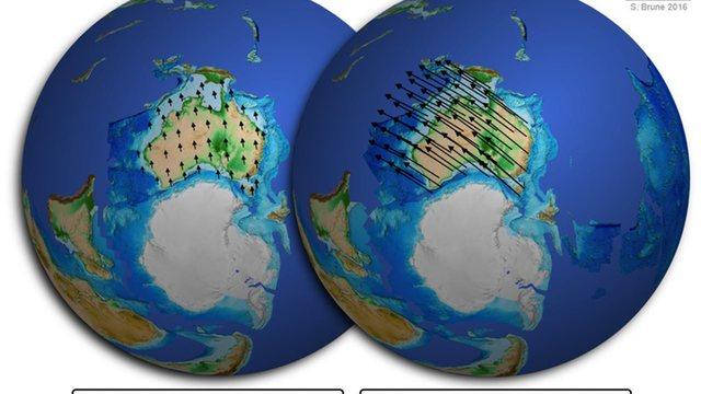 Los Continentes se Separan y Nace el Océano Atlántico