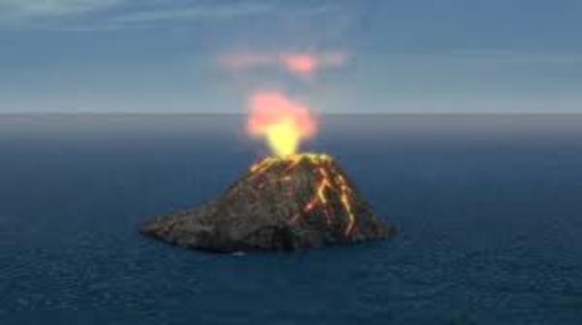 Formación de las islas volcánicas
