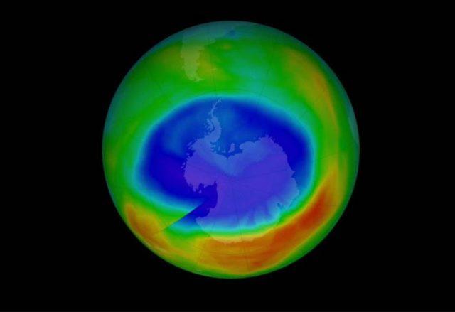 Expansión de la capa de Ozono