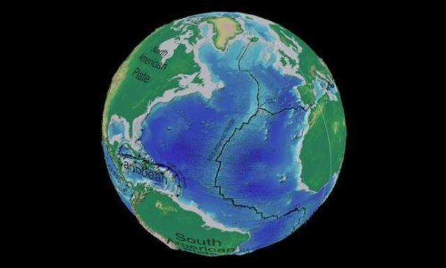 Origen de Océano Atlántico