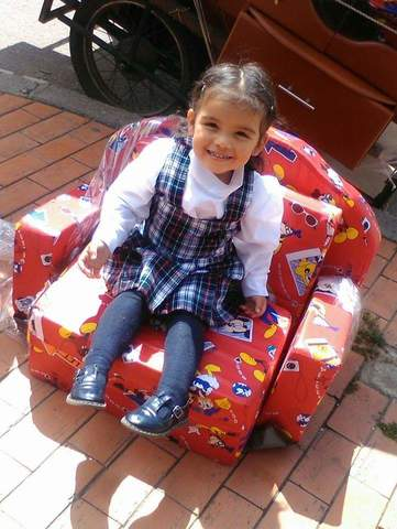 El primer día de colegio de mi sobrina