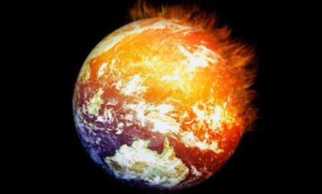 La tierra se caliente