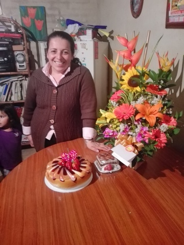 Cumpleaños de mi Mami