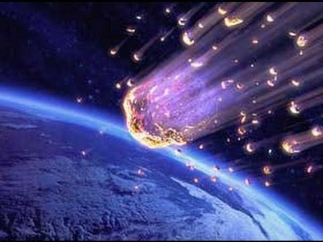 Segunda lluvia de meteoritos