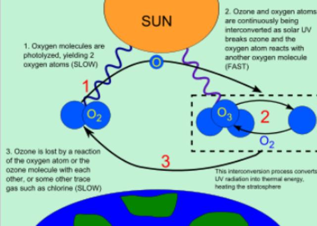 SE CREA LA CAPA DE OZONO