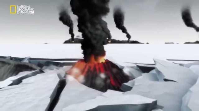 Volcanes en la bola de nieve