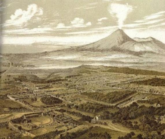 Verwoesting van Pompeï