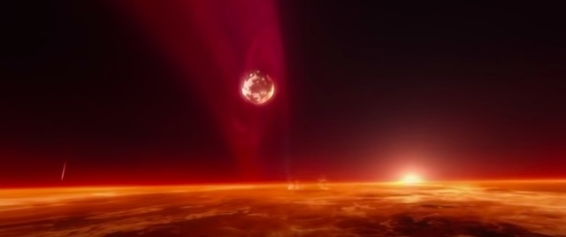 El nacimiento de la Luna