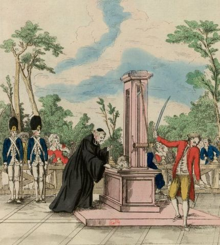 First use of the Guillotine
