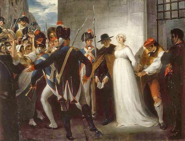 Execution of Marie Antoniette