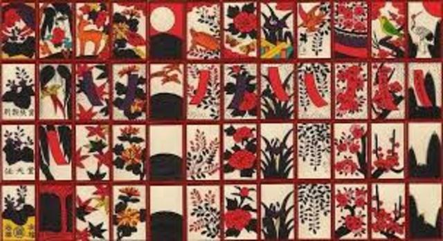 """Fusajiro Yamauchi comenzó fabricando los naipes japoneses """"Hanafuda"""" (flor) en Kyoto."""