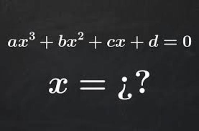 ecuacion cubica