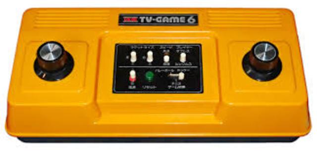 """Desarrollo de videojuegos para uso doméstico en cooperación con Mitsubishi Electric. Se desarrollan las primeras consolas domésticas, """"TV Game 15"""" y """"TV Game 6""""."""