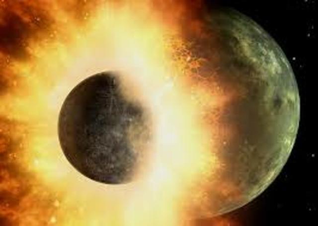 La formación de a Luna