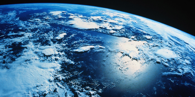 El planeta es solo agua