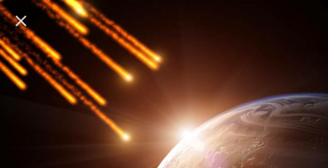 2° lluvia de meteoritos