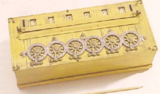 1644: A Máquina de Somar de Pascal.