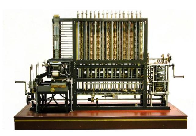 1800 -1820: Máquina Diferencial de Babbage.